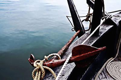 Boat Anchor Art Print by Rena Trepanier