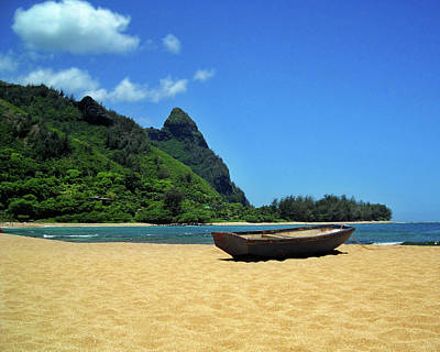 Photograph - Boat And Bali Hai by James Eddy