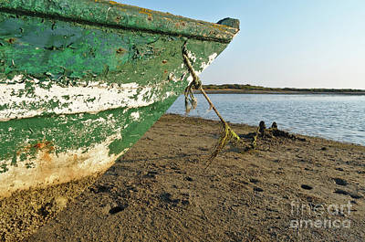Photograph - Boat And Coming Tide by Angelo DeVal