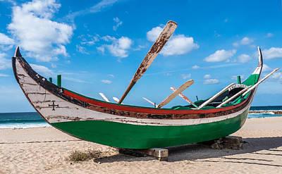Photograph - Boat Ashore by Michael Thomas