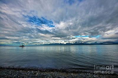Photograph - Boat At Homer by David Arment