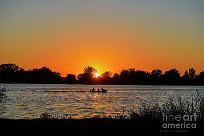 Photograph - Boat At Last Light by David Arment