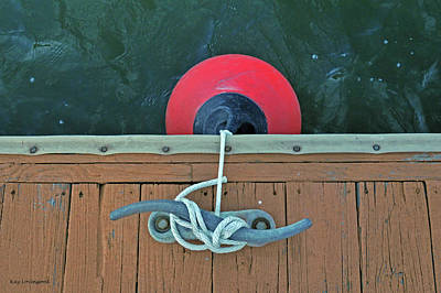 Photograph - Boat Bumper by Kay Lovingood