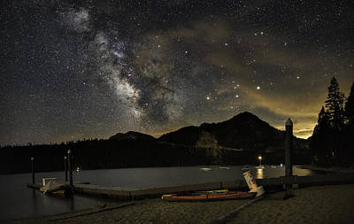 Galatic Photograph - Boat Camp by Tony Fuentes