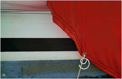 Photograph - Boat Cover Abstract by Wayne King