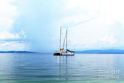 Photograph - Boat Day At Star Beach In Bocas Del Toro by John Rizzuto