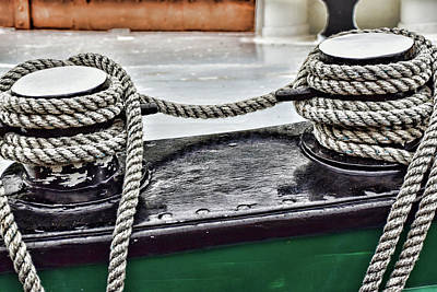 Photograph - Boat Detail by Mihaela Pater