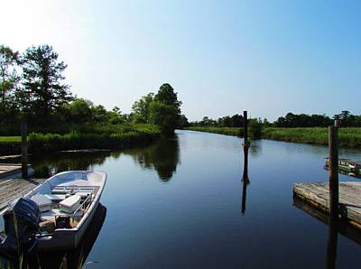 Photograph - Boat Dock by Cynthia Guinn