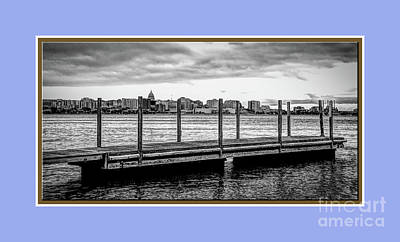 Photograph -  Boat Dock by Deborah Klubertanz
