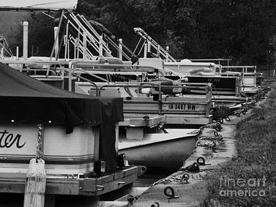 Photograph - Boat Dock by J L Zarek