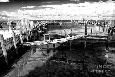 Photograph - Boat Dock by John Rizzuto