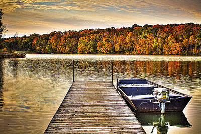 Photograph - Boat Dock Le-aqua-na II by Roger Passman