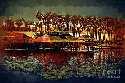 Digital Art - Boat Dock On North Lake by Kirt Tisdale