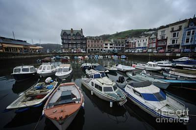Dart Stations Photograph - Boat Float Dartmouth by Rawshutterbug