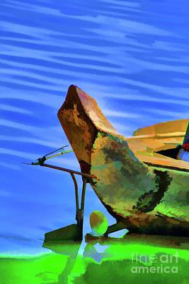 Digital Art - Boat Head by Rick Bragan