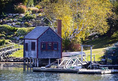 Photograph - Boat House by Alana Ranney