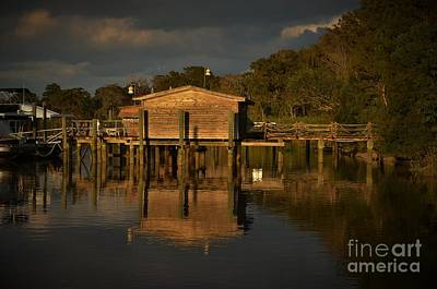 Photograph - Boat House Vignette  by Bob Sample