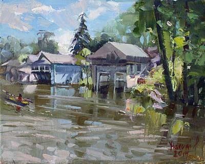 Boat Houses Original