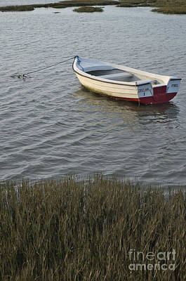 Boat In Ria Formosa - Faro Art Print