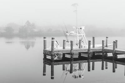 Print featuring the photograph Boat In The Sounds Alabama  by John McGraw
