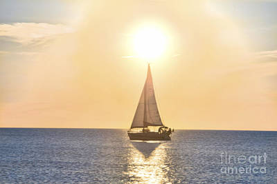 Photograph - Boat In The Sun by David Arment