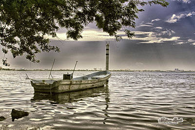 Photograph - Boat In The Water by William Havle