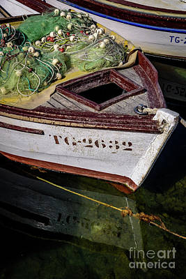 Photograph - Boat In Trogir, Croatia by Global Light Photography - Nicole Leffer