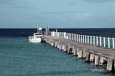 Photograph - Boat Jetty by Rick Piper Photography