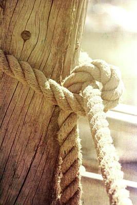 Photograph - Boat Knot by Jackie Farnsworth