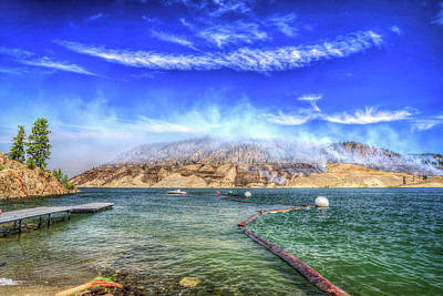 Photograph - Boat Launch At Lake Roosevelt by Spencer McDonald