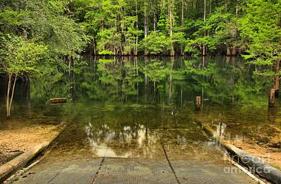 Photograph - Boat Launch At Manatee Springs by Adam Jewell