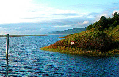 Photograph - Boat Launch Big Lagoon by Joseph Coulombe