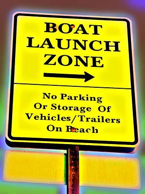Photograph - Boat Launch by Bob Pardue