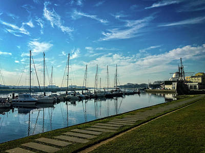 Photograph - Boat Marina by Paulo Goncalves