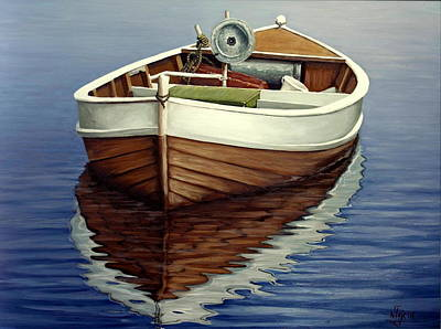 Painting - Boat by Natalia Tejera