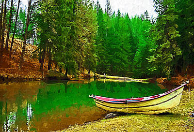Photograph - Boat Of The Lake by Dale Stillman