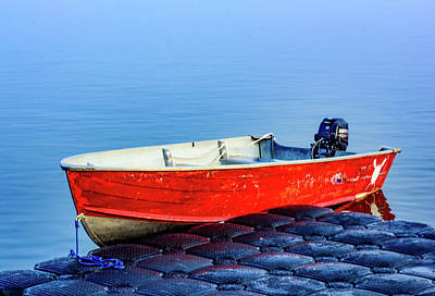 Photograph - Boat On A Dock by James Canning