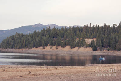 Photograph - Boat On A Mountain Lake by Cindy Garber Iverson