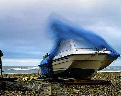 Photograph - Boat On A Windy Day. by Will Gudgeon