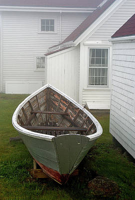 Photograph - Boat On Monhegan Island by Gordon Ripley