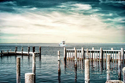 Photograph - Boat On The Bay Infrared by John Rizzuto