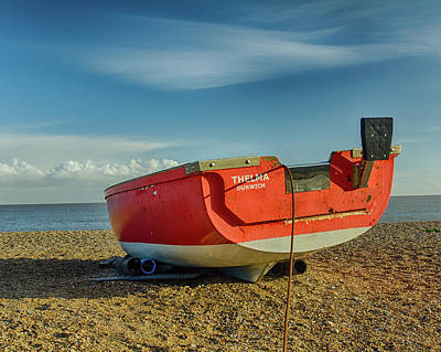 Photograph - Boat On The Beach by Leah Palmer