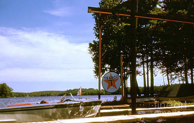 Photograph - Boat On The Lake - 004 by Larry Ward