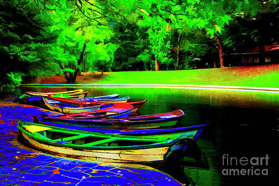 Photograph - Boat Pond by Rick Bragan
