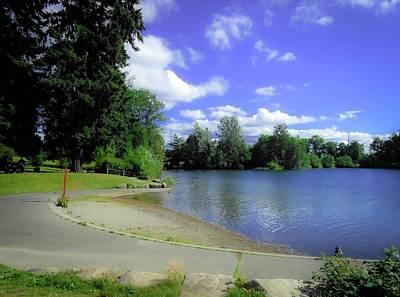 Wapato Photograph - Boat Ramp Lake Wapato by Linda Chambers