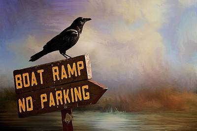 Photograph - Boat Ramp, No Parking by Flying Z Photography by Zayne Diamond