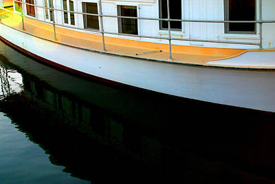Boat  Reflection - Image 5 - Ver. 2 Art Print