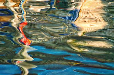 Photograph - Boat Reflections - Hvar Croatia by Stuart Litoff