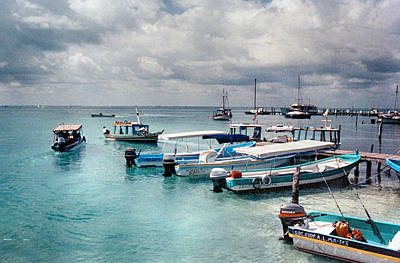 Photograph - Boat Rentals In Mexico by Charles McKelroy