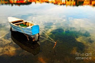 Photograph - Boat by Silvia Ganora